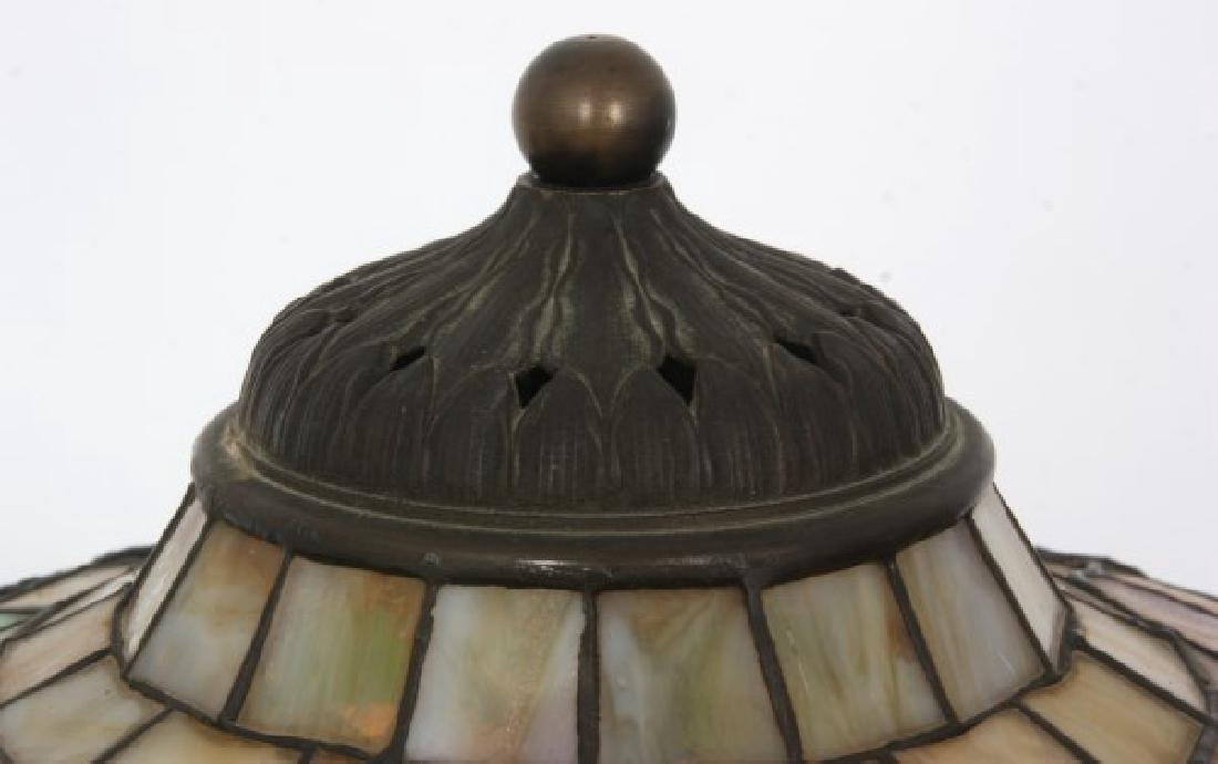 14 in. Signed H.G. Cleveland Table Lamp - 4