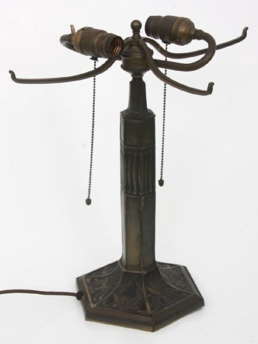 14 in. Pairpoint Nasturtium Table Lamp - 6
