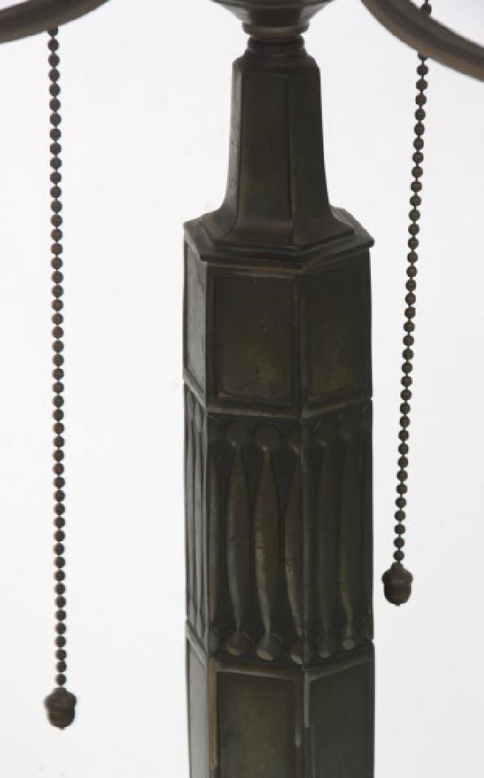 14 in. Pairpoint Nasturtium Table Lamp - 8