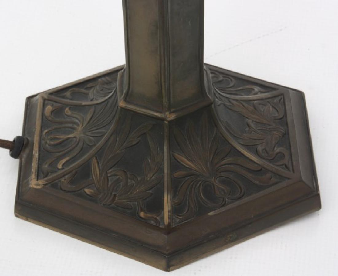 14 in. Pairpoint Nasturtium Table Lamp - 9