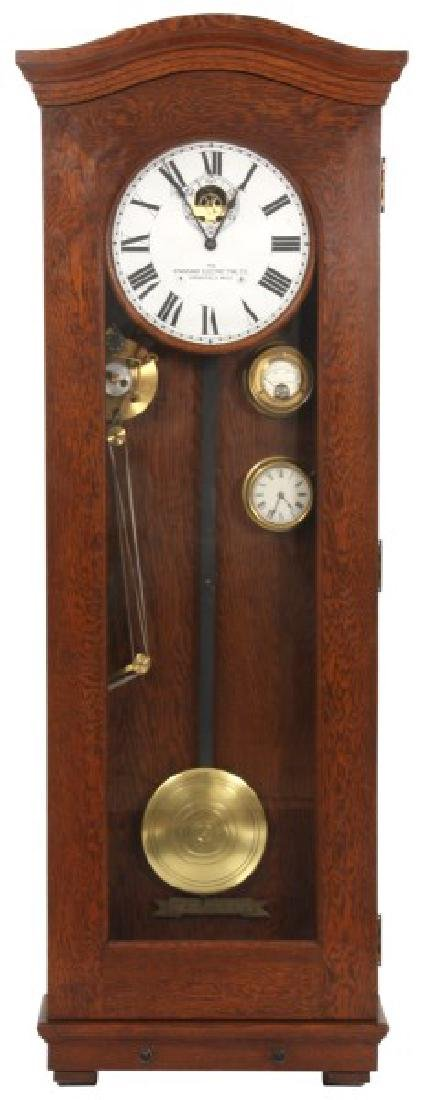 Oak Standard Electric Master Clock