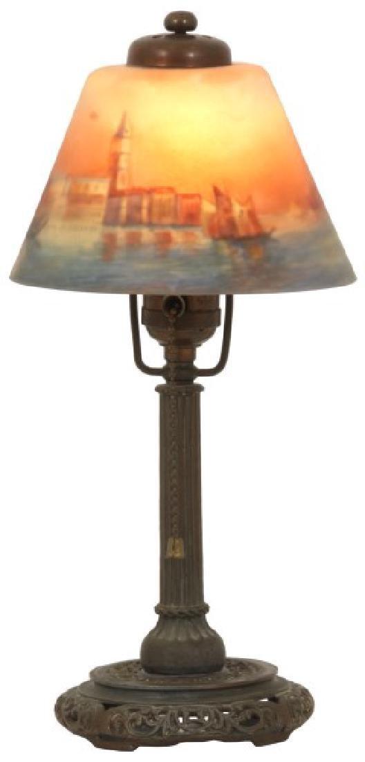 Handel Venetian Harbor Boudoir Lamp
