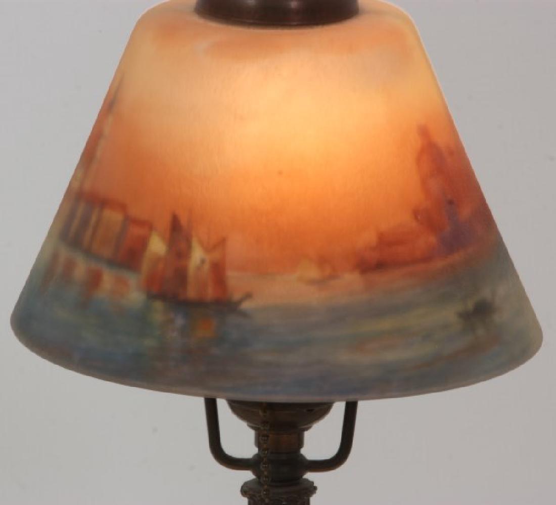 Handel Venetian Harbor Boudoir Lamp - 3