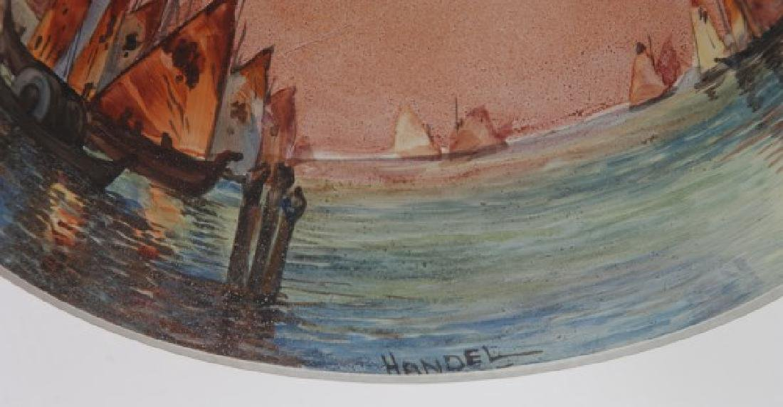 Handel Venetian Harbor Boudoir Lamp - 8