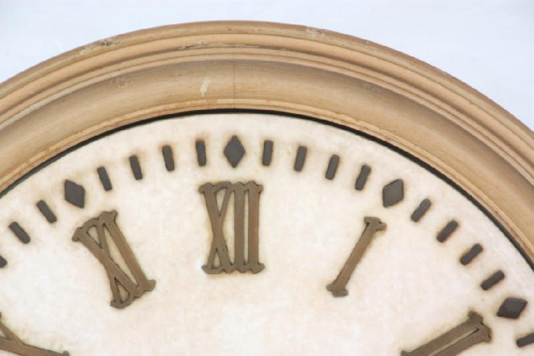 24 in. E. Howard Marble Dial Gallery Clock - 3