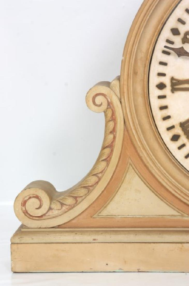 24 in. E. Howard Marble Dial Gallery Clock - 4