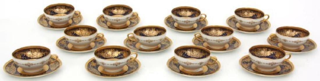 47 Pcs. Limoges Porcelain Tea Set - 2