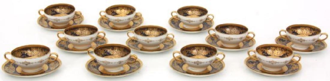 47 Pcs. Limoges Porcelain Tea Set - 3
