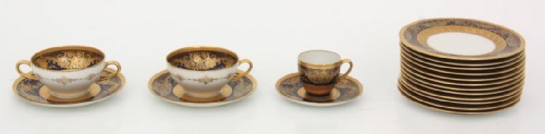 47 Pcs. Limoges Porcelain Tea Set - 6