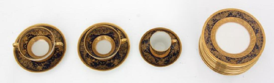 47 Pcs. Limoges Porcelain Tea Set - 7