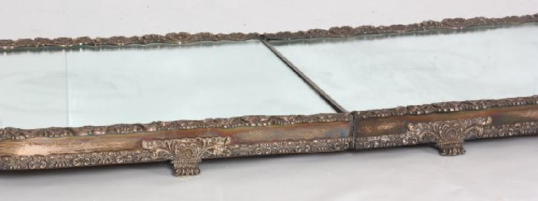 5 Panel 8 Ft. Silver Plated Table Plateau - 2