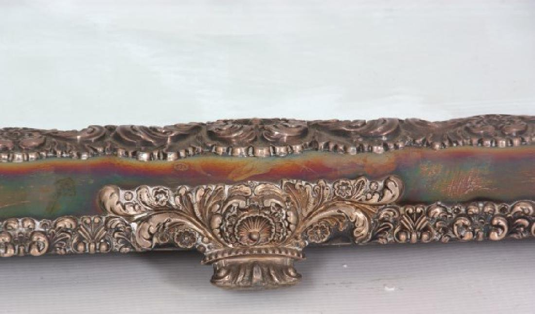 5 Panel 8 Ft. Silver Plated Table Plateau - 3