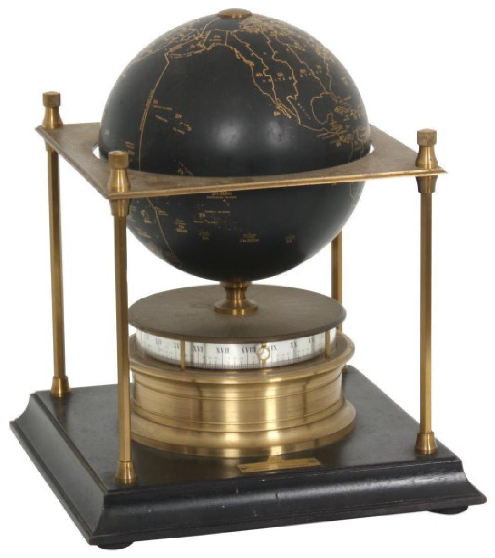 Annular Dial Terrestrial Globe World Clock