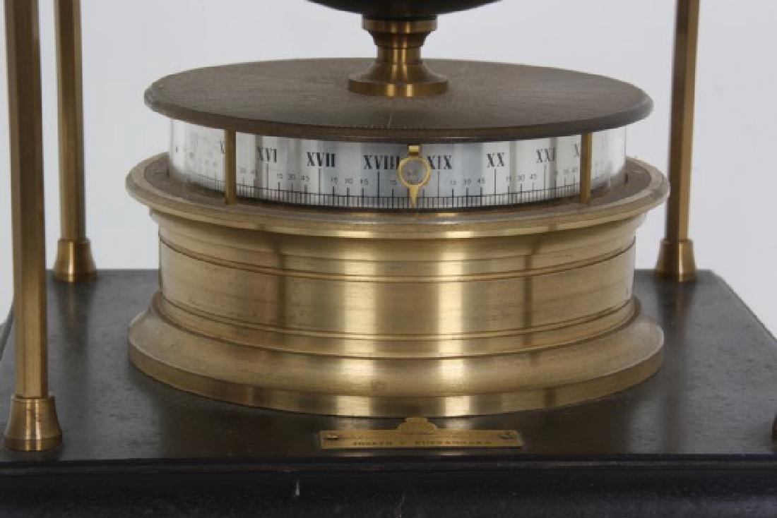Annular Dial Terrestrial Globe World Clock - 2