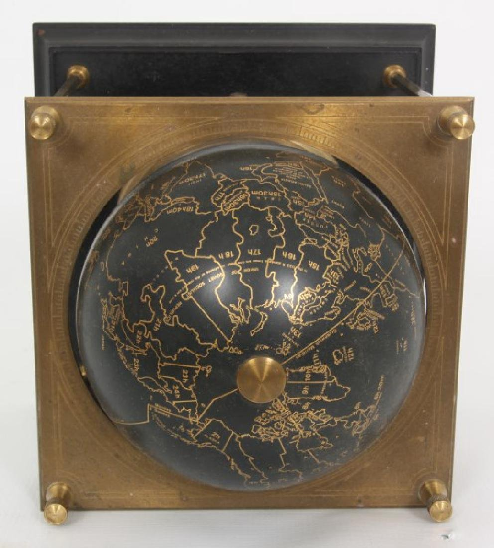 Annular Dial Terrestrial Globe World Clock - 6