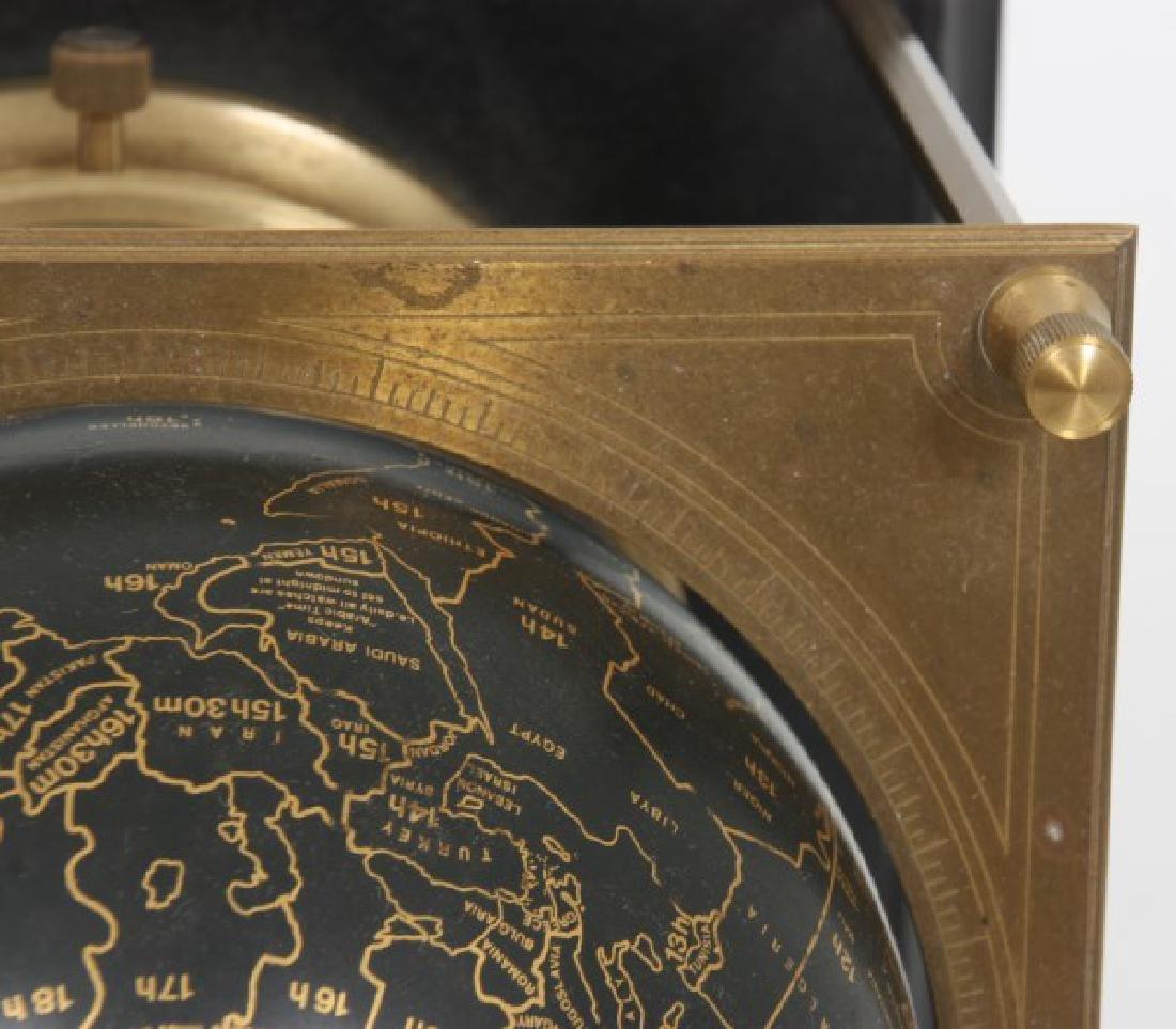 Annular Dial Terrestrial Globe World Clock - 7