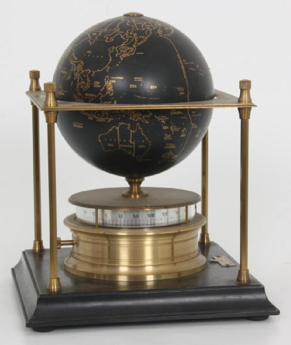Annular Dial Terrestrial Globe World Clock - 8