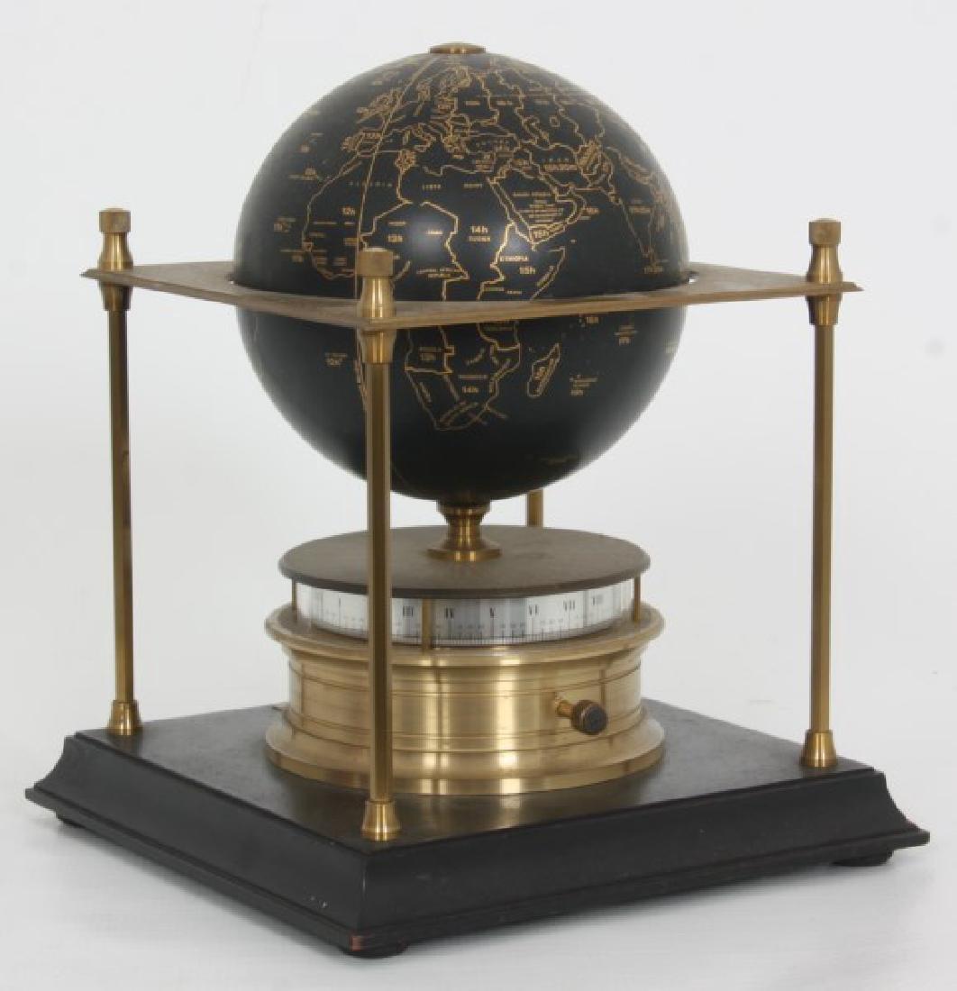 Annular Dial Terrestrial Globe World Clock - 9