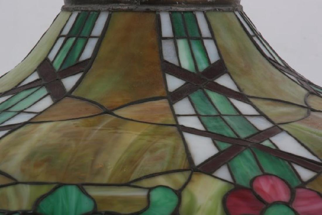 24 in. Leaded Hanging Lamp Shade - 4