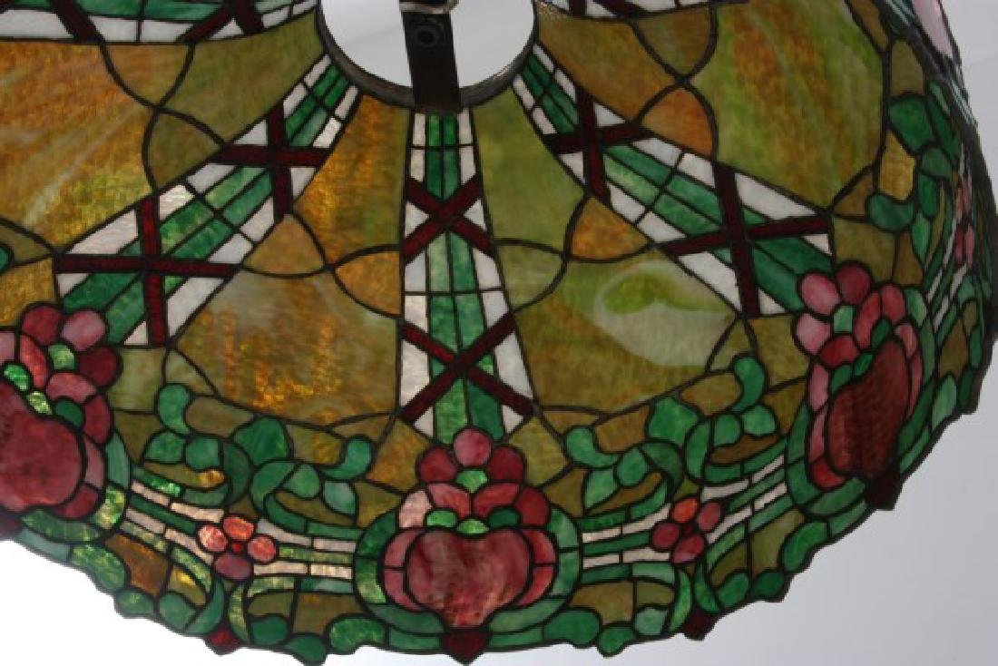 24 in. Leaded Hanging Lamp Shade - 5