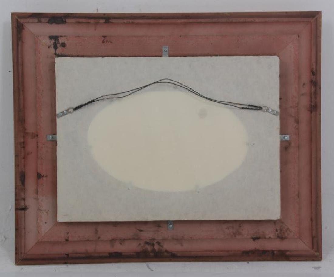 J.E. Dean Hand Painted Porcelain Plaque - 7