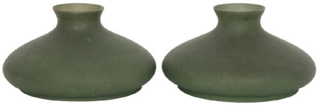 Pr. Handel 10 in. Green Mosserine Shades