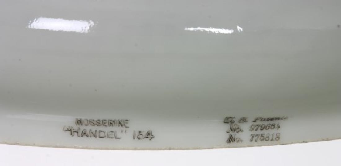 Pr. Handel 10 in. Green Mosserine Shades - 5