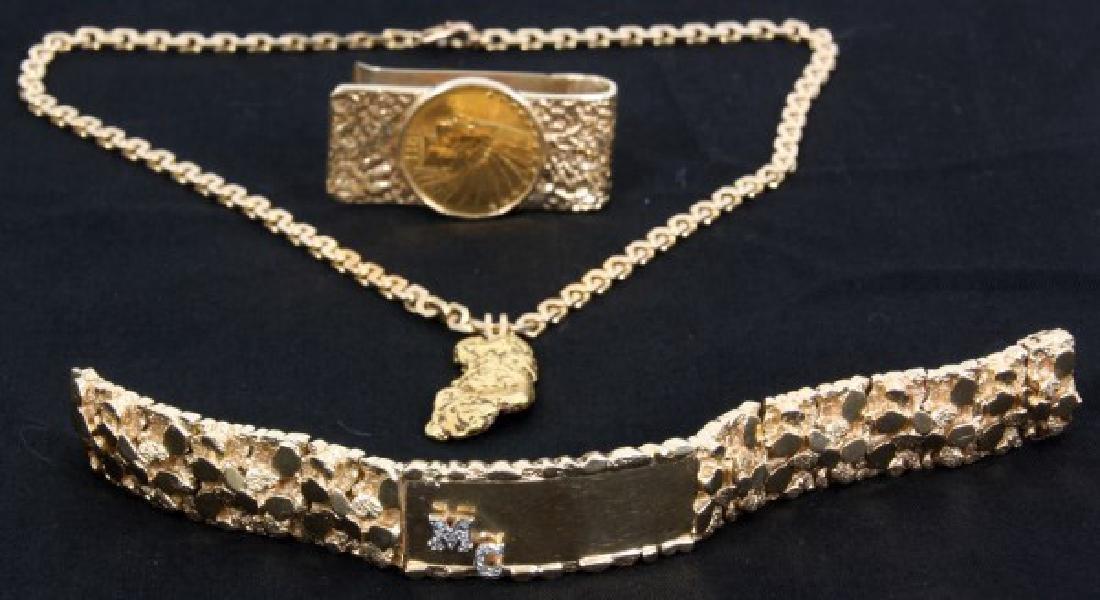 3 Pcs. Custom Made Jewelry