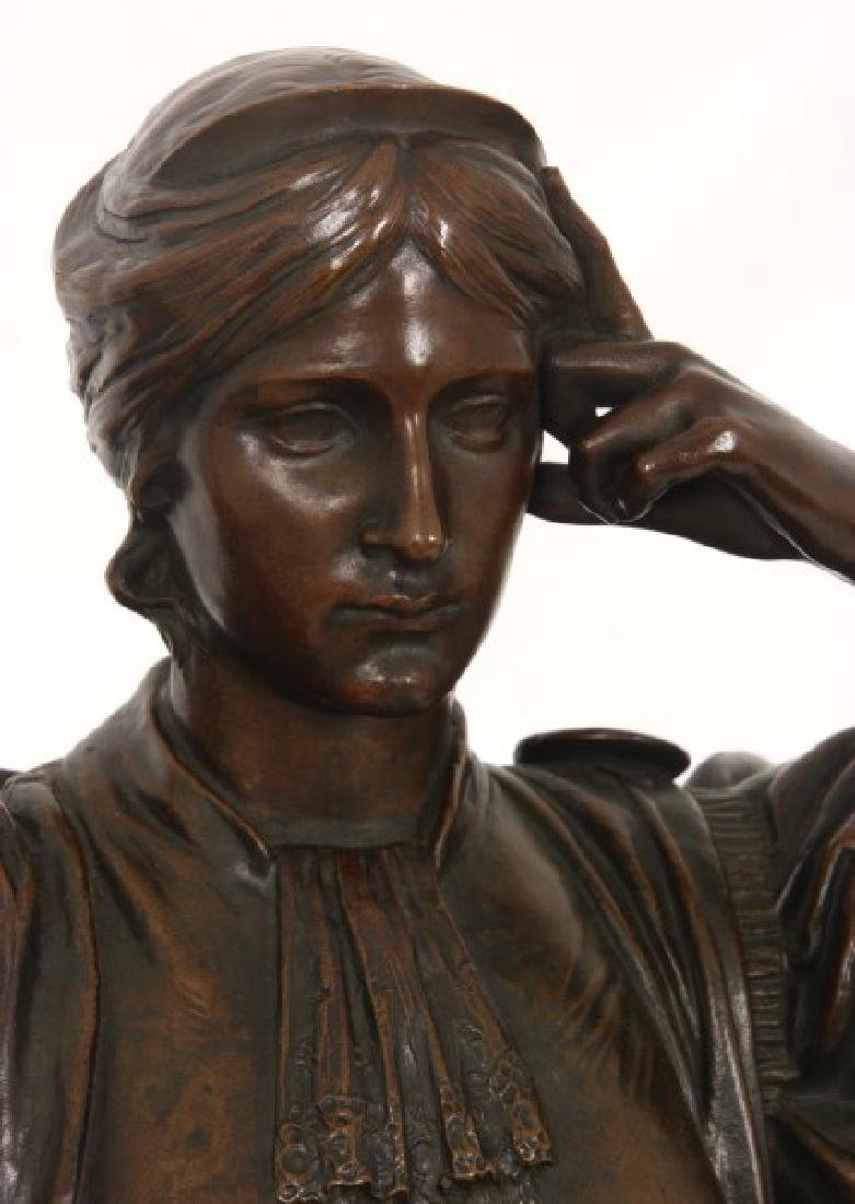Louis Convers Bronze Sculpture of Justice - 2