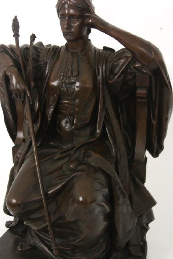 Louis Convers Bronze Sculpture of Justice - 3