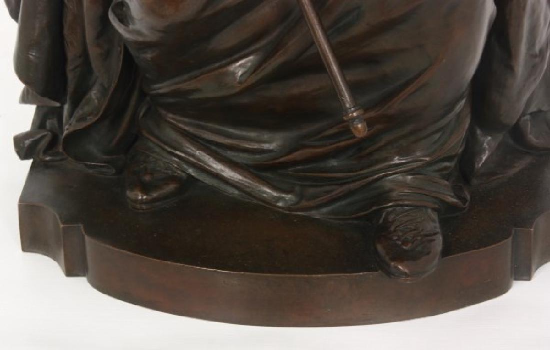 Louis Convers Bronze Sculpture of Justice - 4