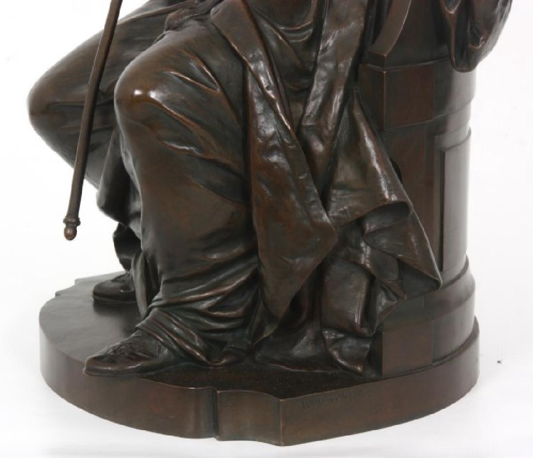 Louis Convers Bronze Sculpture of Justice - 5