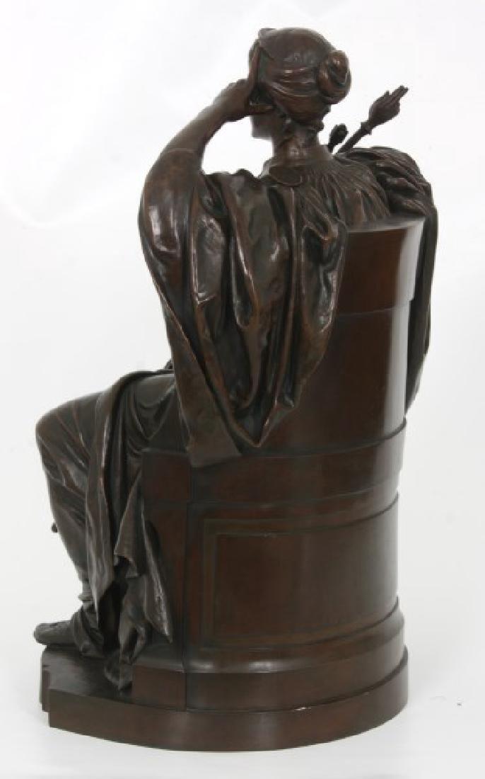 Louis Convers Bronze Sculpture of Justice - 6