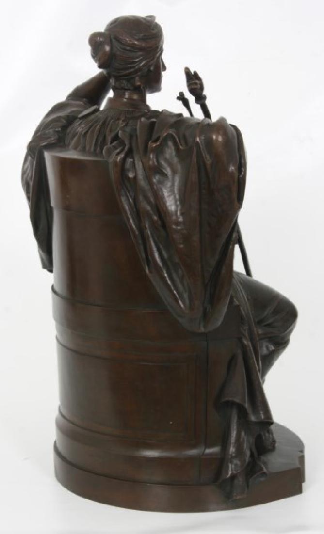 Louis Convers Bronze Sculpture of Justice - 8