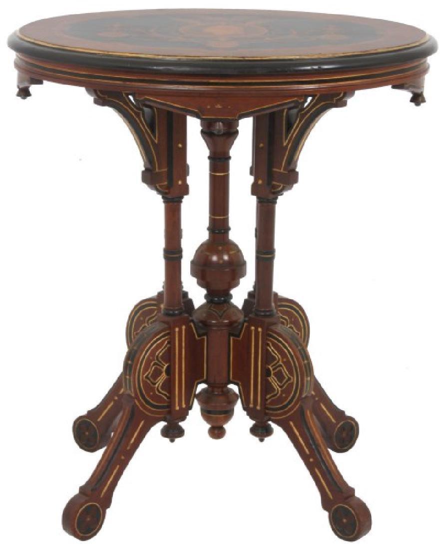 Kilian Bros. NY Centennial Inlaid Top Table