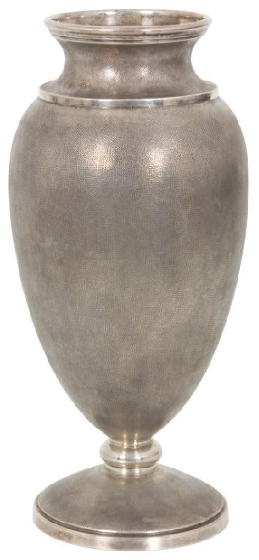M. Buccellati Sterling Silver Vase