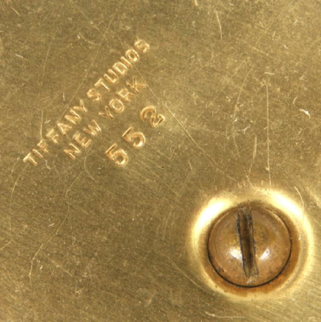 Tiffany Studios No. 552 Pine Needle Desk Lamp - 5