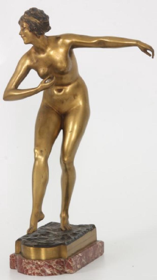 Attr. Paul Philippe Bronze - Danseuse Nue - 2