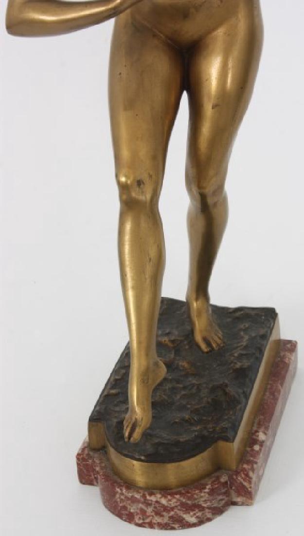Attr. Paul Philippe Bronze - Danseuse Nue - 4