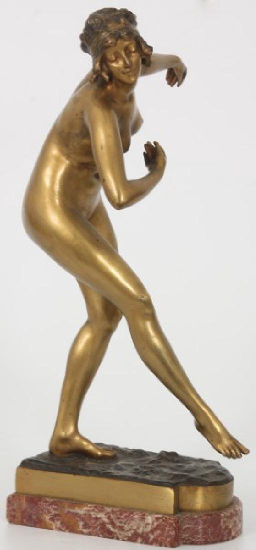 Attr. Paul Philippe Bronze - Danseuse Nue - 5
