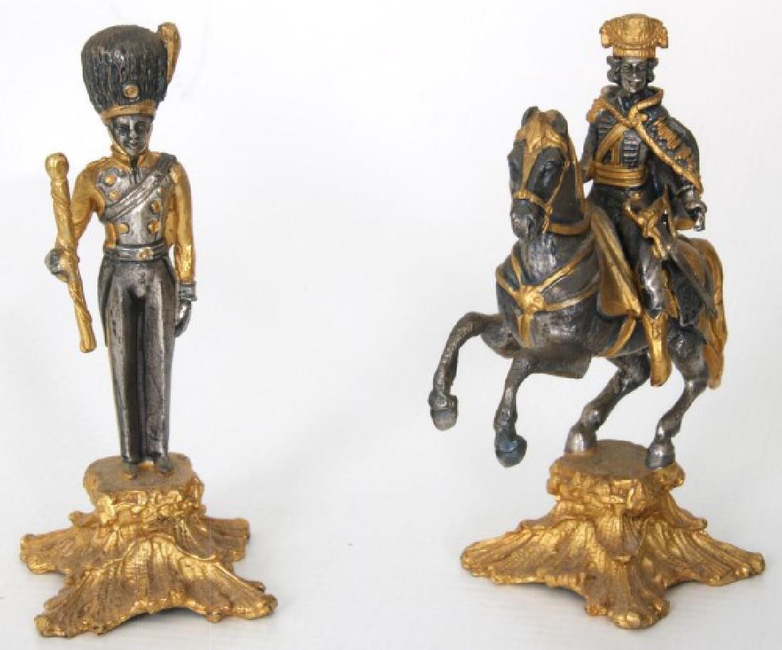 Giuseppe Vasari Napoleonic Chess Set - 10