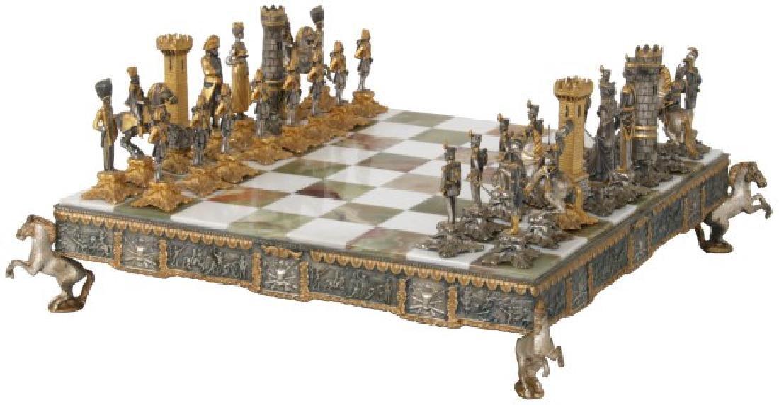 Giuseppe Vasari Napoleonic Chess Set - 3