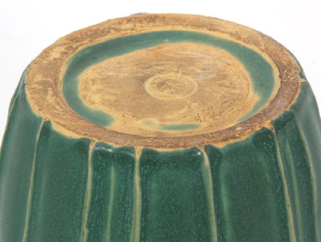 Grueby Matte Green Pottery Vase - 4