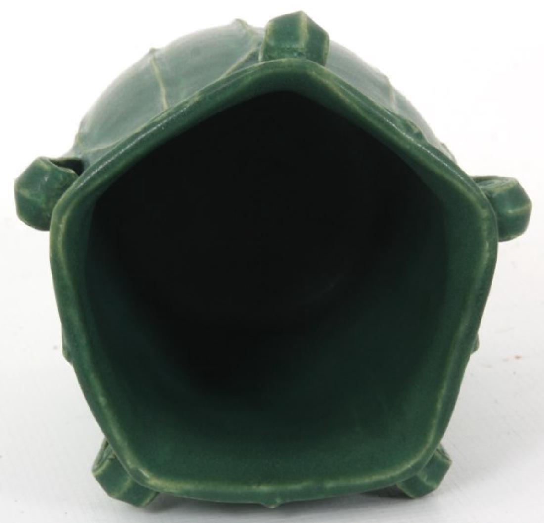 Grueby Matte Green Pottery Vase - 6