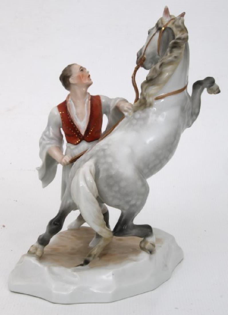 3 Pcs. Herend Porcelain Figurines - 2