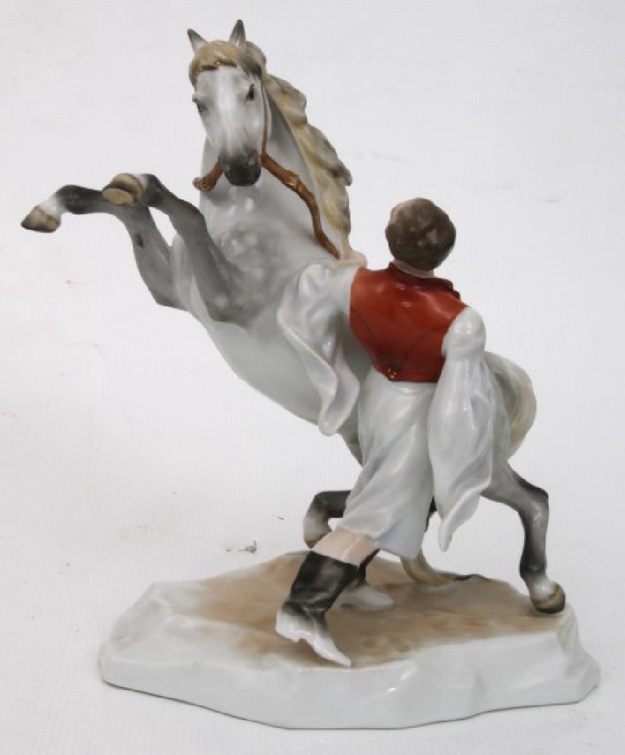 3 Pcs. Herend Porcelain Figurines - 3