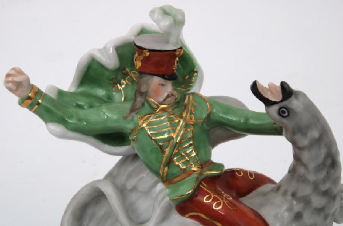 3 Pcs. Herend Porcelain Figurines - 5