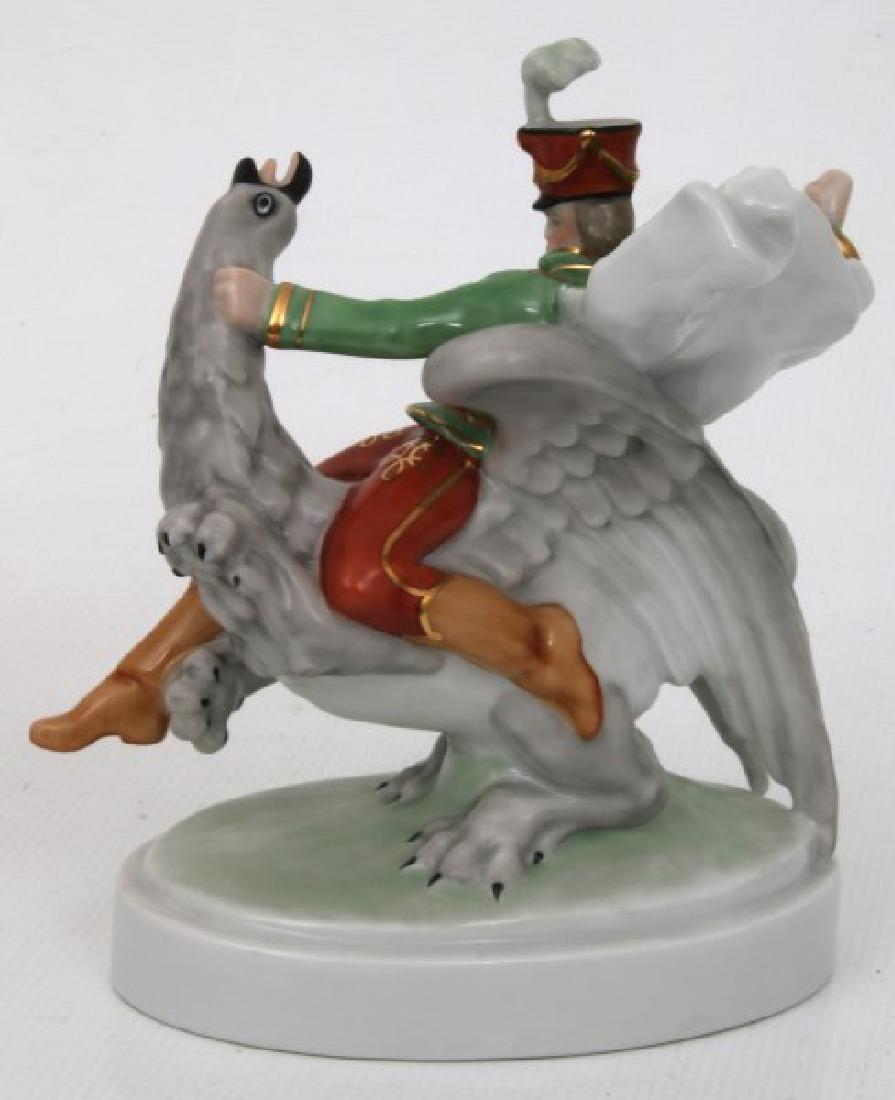 3 Pcs. Herend Porcelain Figurines - 6