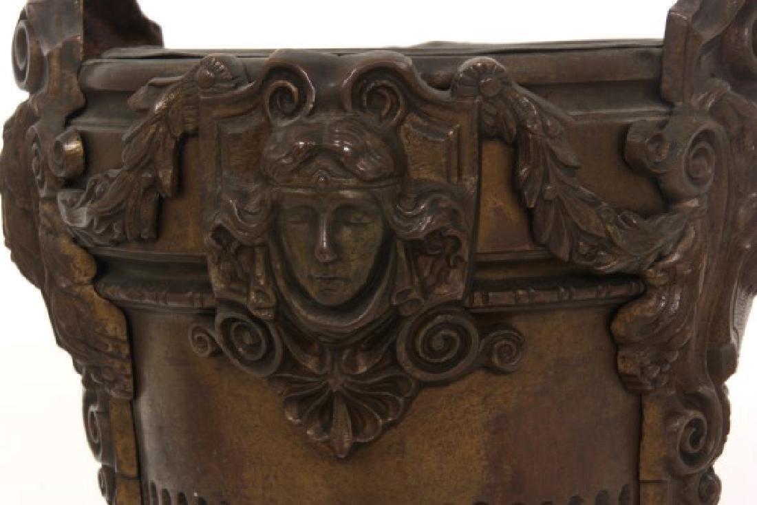 Bronze Fernery w/ Maiden Heads - 2