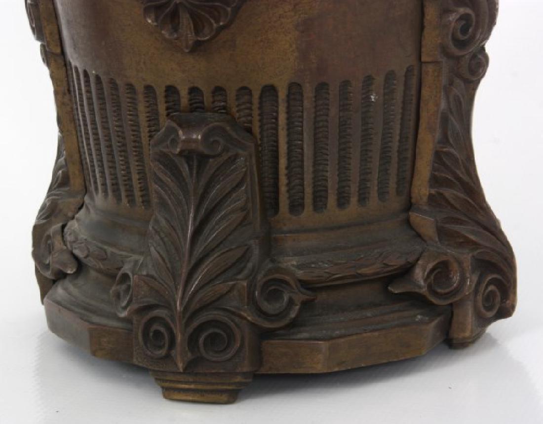 Bronze Fernery w/ Maiden Heads - 3